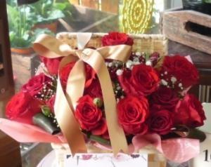 赤バラのバラバスケ…